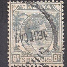 Sellos: SINGAPUR 1948 - USADO. Lote 103479399