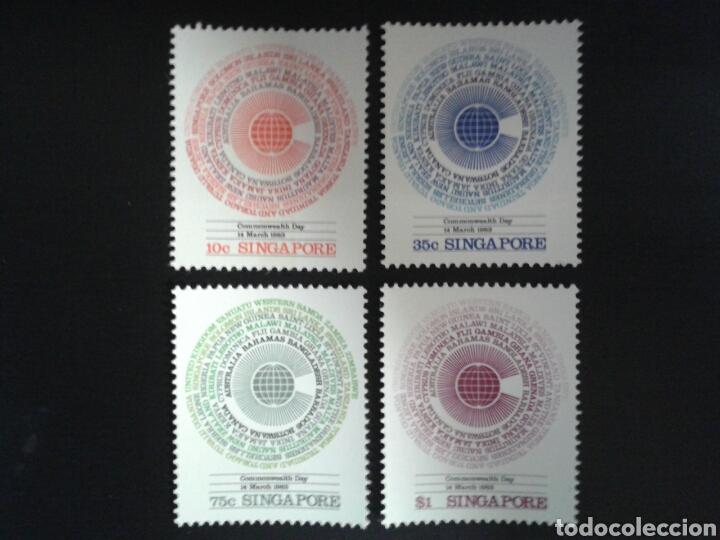 SINGAPUR. YVERT 410/3. SERIE COMPLETA NUEVA SIN CHARNELA. (Sellos - Extranjero - Asia - Singapur)