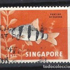 Sellos: SINGAPUR / FAUNA - SELLO USADO. Lote 112738511