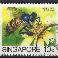 Sellos: SINGAPUR / FAUNA - SELLO USADO. Lote 112738599