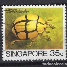 Sellos: SINGAPUR / FAUNA - SELLO USADO. Lote 112738615