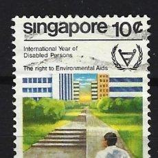 Sellos: SINGAPUR - SELLO USADO. Lote 112738935