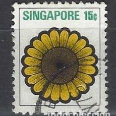 Sellos: SINGAPUR / FLORA - SELLO USADO. Lote 112739219