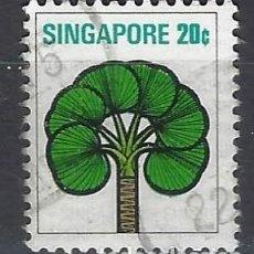 Sellos: SINGAPUR / FLORA - SELLO USADO. Lote 112739383