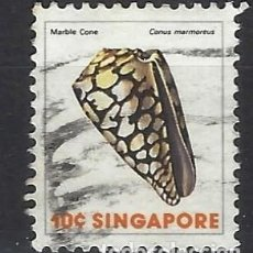 Sellos: SINGAPUR / FAUNA - SELLO USADO. Lote 112739499