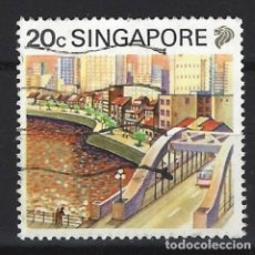 Sellos: SINGAPUR - SELLO USADO. Lote 121160543
