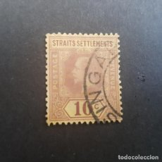 Sellos: MALAYA,COLONIA BRITÁNICA,STRAITS SETTLEMENTS,1912-1918,JORGE V,SCOTT 158,TIPO I,USADO,(LOTE AG). Lote 151508902