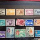 Sellos: 1955-SINGAPUR.ELIZABETH II.15 VALORES COMPLETA.USADOS.. Lote 155385530