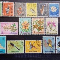 Sellos: 1962-SINGAPUR.16 VALORES COMPLETA.USADOS.. Lote 155385746