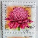 Sellos: SINGAPUR, USADOS, SELLOS EN BLOQUE DE 2 . Lote 158608010