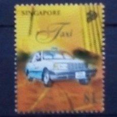 Sellos: SINGAPUR AUTOMOVILES SELLO USADO. Lote 172412953