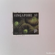 Timbres: SINGAPUR SELLO USADO FAUNA. Lote 189837955