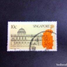 Sellos: SINGAPUR 1987, CENTENARIO DEL MUSEO NACIONAL . Lote 190898816