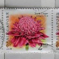 Sellos: SINGAPUR, BLOQUE CON 5 SELLOS USADOS. Lote 191996328