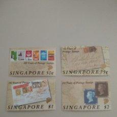 Sellos: SELLOS DE SINGAPUR. Lote 195076498