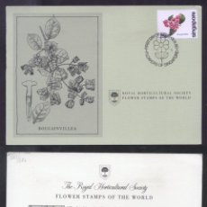 Sellos: SINGAPORE 1980 FLOWERS FDC CARD K.265. Lote 198277288