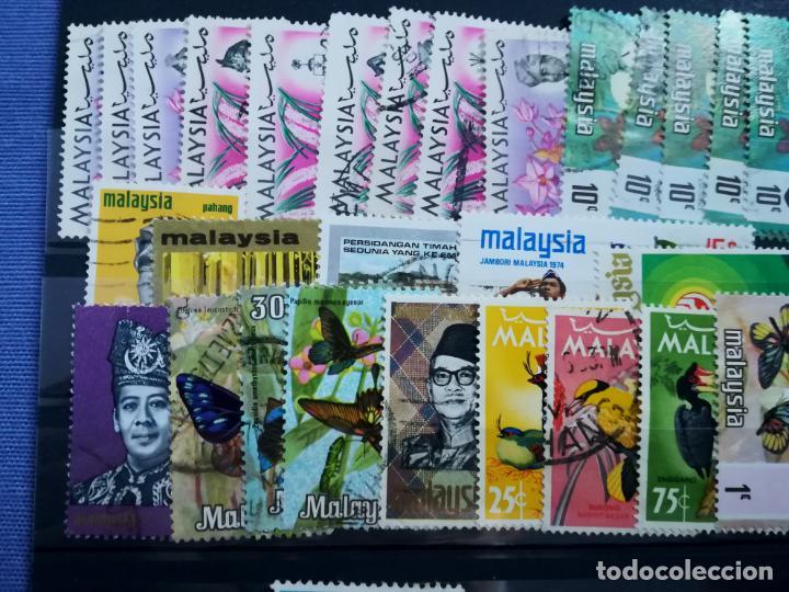 Sellos: LOTE SELLOS USADOS Malasia y Singapur - Foto 2 - 205438471