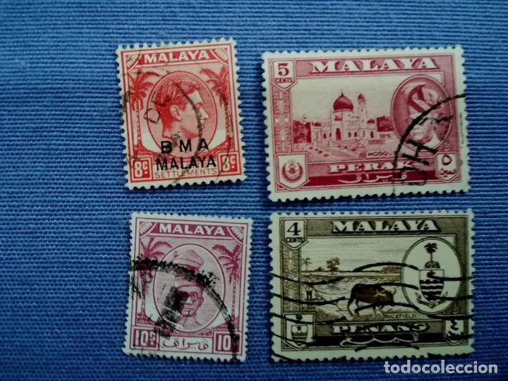 Sellos: LOTE SELLOS USADOS Malasia y Singapur - Foto 4 - 205438471