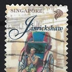 Sellos: SINGAPUR 1997 - TRANSPORTES, SELLO DE CORREO LOCAL UNICAMENTE - SELLO USADO. Lote 207709130