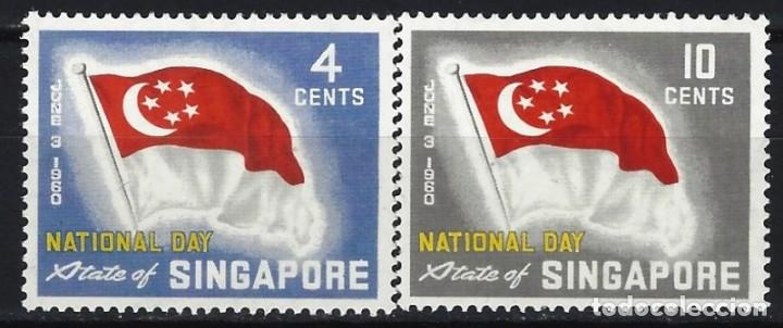 SINGAPUR 1960 - DÍA NACIONAL, S.COMPLETA - MNH** (Sellos - Extranjero - Asia - Singapur)