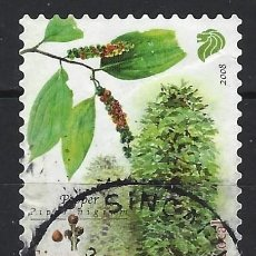 Sellos: SINGAPUR 2008 - CULTIVOS COMERCIALES, PIMIENTA - USADO. Lote 213973603