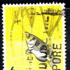 Sellos: SINGAPOR // YVERT 56 // 1962-68 ... USADO .. FAUNA. Lote 217269770