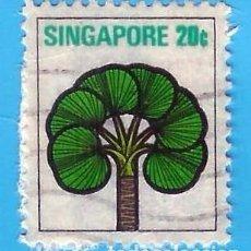 Sellos: SINGAPUR. 1973. PALMERA DATILERA ENANA. Lote 224561596
