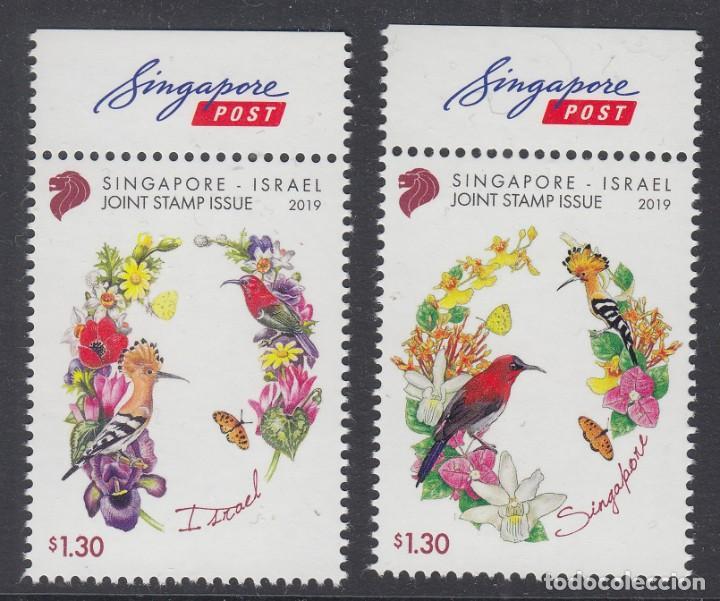 5.- SINGAPUR 2019 EMISION CONJUNTA CON ISRAEL (Sellos - Extranjero - Asia - Singapur)