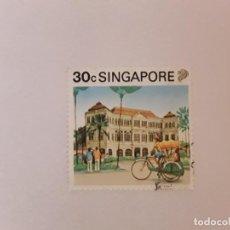 Sellos: SINGAPUR SELLO USADO. Lote 237111050