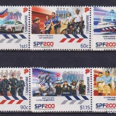 Sellos: ⚡ DISCOUNT SINGAPORE 2020 THE 200TH ANNIVERSARY OF THE SINGAPORE POLICE FORCE MNH - POLICE. Lote 251563575