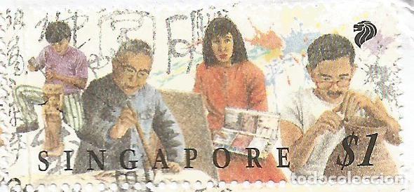 Sellos: SINGAPUR - SOBRE AERÉO - MIRA TODAS LAS FOTOS - Foto 5 - 251829465