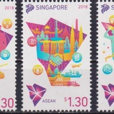 Sellos: ⚡ DISCOUNT SINGAPORE 2018 CHAIRMANSHIP OF ASEAN MNH - THE ORGANIZATION. Lote 260531795