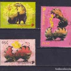 Sellos: ⚡ DISCOUNT SINGAPORE 2010 CHINESE NEW YEAR - YEAR OF THE TIGER MNH - NEW YEAR. Lote 260531800