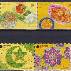Sellos: ⚡ DISCOUNT SINGAPORE 2018 FESTIVALS MNH -. Lote 260543265
