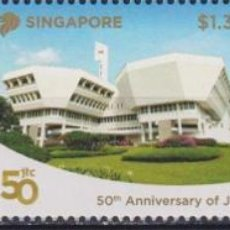 Sellos: ⚡ DISCOUNT SINGAPORE 2018 THE 50TH ANNIVERSARY OF THE ISEAS, JTC AND MUIS MNH - ARCHITECTURE. Lote 260557040