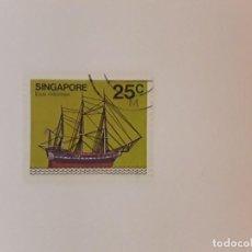 Selos: SINGAPUR SELLO USADO. Lote 267874814