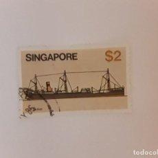Selos: SINGAPUR SELLO USADO. Lote 267874934