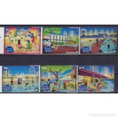 Sellos: ⚡ DISCOUNT SINGAPORE 2018 NATIONAL DAY - EVENING IN SINGAPORE MNH - HOLIDAYS, CULTURE. Lote 274776218