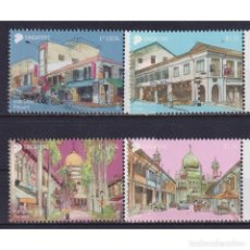 Sellos: ⚡ DISCOUNT SINGAPORE 2018 AREAS OF HISTORICAL SIGNIFICANCE MNH - ARCHITECTURE. Lote 274776318