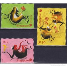 Sellos: ⚡ DISCOUNT SINGAPORE 2016 CHINESE NEW YEAR - YEAR OF THE MONKEY MNH - NEW YEAR. Lote 274776323