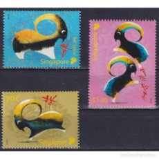 Sellos: ⚡ DISCOUNT SINGAPORE 2015 CHINESE NEW YEAR - YEAR OF THE RAM MNH - NEW YEAR. Lote 274776373
