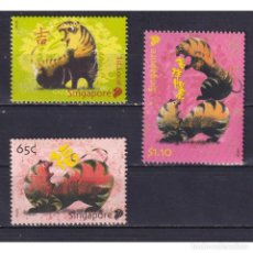 Sellos: ⚡ DISCOUNT SINGAPORE 2010 CHINESE NEW YEAR - YEAR OF THE TIGER MNH - NEW YEAR. Lote 274776398