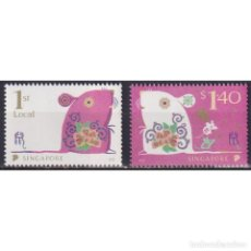 Sellos: ⚡ DISCOUNT SINGAPORE 2020 CHINESE NEW YEAR - YEAR OF THE RAT MNH - NEW YEAR. Lote 274776438