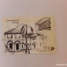 Selos: AÑO 2010 SINGAPUR SELLO USADO. Lote 275199033
