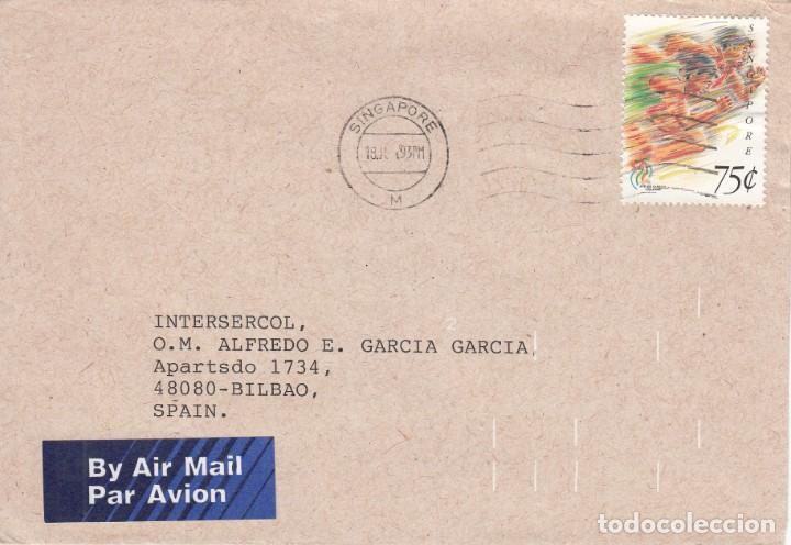 CORREO AEREO: SINGAPUR 1993 (Sellos - Extranjero - Asia - Singapur)