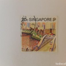 Selos: SINGAPUR SELLO USADO. Lote 285254848