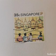 Selos: SINGAPUR SELLO USADO. Lote 285254918