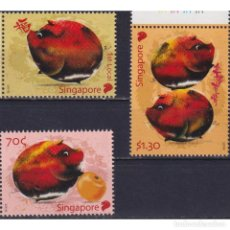 Sellos: SG2394 SINGAPORE 2019 MNH CHINESE NEW YEAR - YEAR OF THE PIG. Lote 287527528