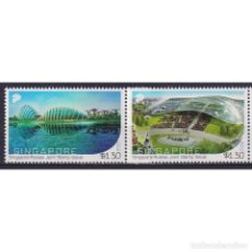Sellos: SG2345 SINGAPORE 2018 MNH SINGAPORE - RUSSIA JOINT ISSUE. Lote 287528728