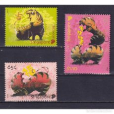 Sellos: SG1820 SINGAPORE 2010 MNH CHINESE NEW YEAR - YEAR OF THE TIGER. Lote 287530023